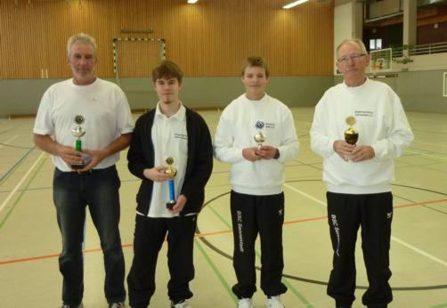 Sieger der Vereinsmeisterschaft Hale 2011